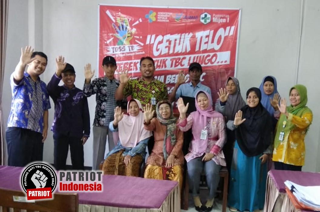 Peserta sosialisasi Getuk Telo eks pasien TBC area kecamatan Mijen Kabupaten Demak