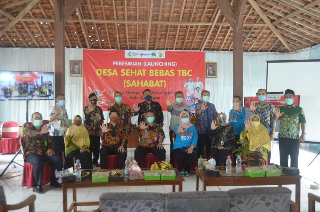 Flashback Moment Launching Desa Sehat Bebas TBC
