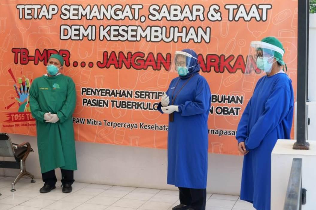Penyuluhan Kesehatan Wisuda Pasien TBC Resisten Obat